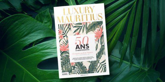 Cover Luxury Mauritius Magazine anniversary