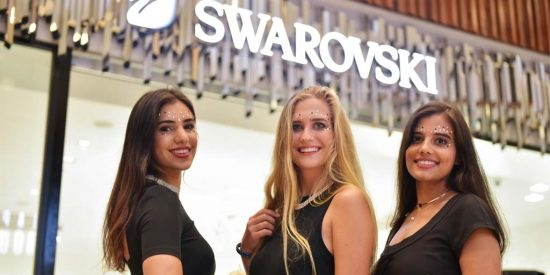 Luxury Mauritius Swarovski Banner